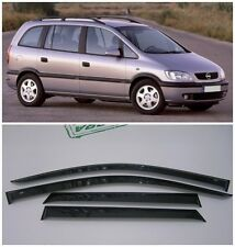 For Opel Zafira A 2000-2005 Side Window Visors Sun Rain Guard Vent Deflector