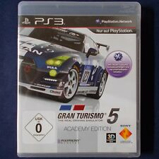 Ps3-playstation ► GT gran turismo 5 Academy Edition ◄ dt. version | top