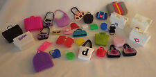 """33 Barbie ? Luggage Suitecases Purses Girls Doll Pretend Play 1"""" - 2"""" Toys"""