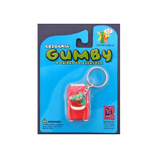Gumby Car Bendable Keychain Key Chain Keyring New