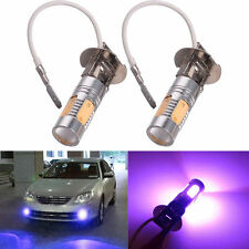 H3 7.5W High Power 33-SMD Xenon Purple LED Car DRL Fog/Driving Lights Bulbs Lamp