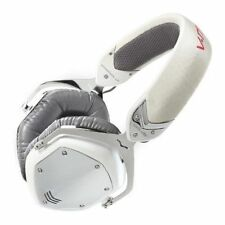 V-MODA Crossfade LP Over-Ear Noise-Isolating Metal Headphone (White Pearl) NEW