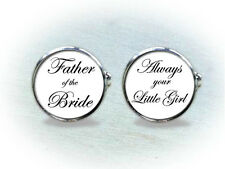 Wedding Cufflinks - Father of the Bride, Father of the Groom