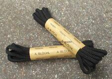 Doppelpack Schnürsenkel 160 cm schwarz  Springerstiefel-Schuhbänder Schuhriemen
