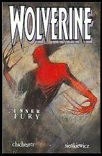 Wolverine Inner Fury, Chichester, Marvel Comics Graphic Novel 1st Print Nov 1992