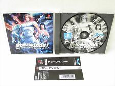 PS1 STAR WINDER Ultimate Space Race with SPINE CARD * Playstation Japan Game p1