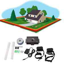 New Dog Pet Underground Waterproof 2 Shock Collar Electric Fence Fencing System