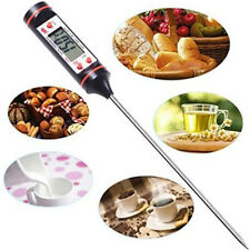 Multifunction Digital Probe Thermometer Food Temperature Sensor For Cook Baking