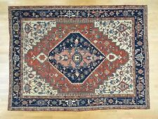 """9'10""""x13'5"""" Antique Persian Serapi Good Cond Hand-Knotted Oriental Rug R35433"""