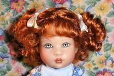 WIG Lulu CARROT RED Made For Helen Kish Riley Doll (Debs)