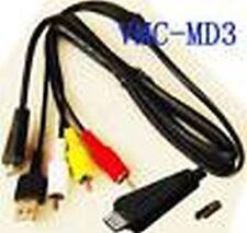 USB & AV Cable for Sony DSC-W320R W330 W330B W330BDL/R W330L W330R W330S W350