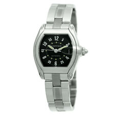 CARTIER Gent Large Stainless Steel Roadster Automatic Cartier Box  MINTY