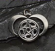 Hecate Necklace - Dark Moon Goddess Hekate Pendant - QUEEN of Witches Amulet