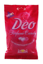 Deo Perfume Candy Edible Deodorant NEW Rose Fragrance