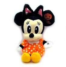 Disney Minnie Mouse Happy Halloween Mini Plush Doll Key Chain 6""