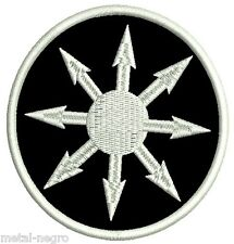 CHAOS MAGIC SYMBOL EMBROIDERED PATCH OCCULTISM ESOTERIC SIGIL WITCH Metal Negro