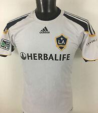 LA Galaxy MLS Adidas Jersey Climalite Men's sz M