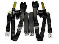 1978-81 Chevrolet Camaro / Pontiac Trans Am Factory Seat Belt Set - Black