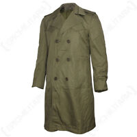 ORIGINAL ITALIAN TRENCHCOAT - Genuine Khaki Military Army Coat Jacket All Sizes