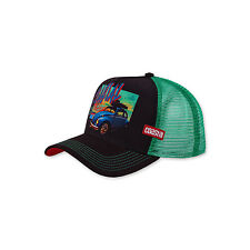 COASTAL - Sun Down (brown/green) - High Fitted Trucker Cap