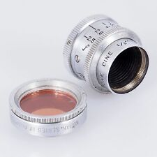 # Keystone 1/2 inch F/ 2.5 (13mm) Cine C mount Lens W/ kodak Filter (#117)