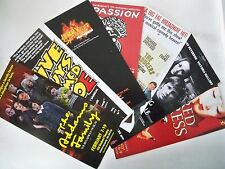 LOT OF 7 Brochure style Heralds LONDON, NYC TOURS 1993 - 2014