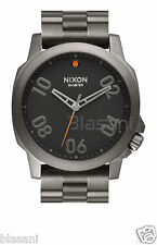Nixon Original Ranger 45 A521-1531 Gunmetal / Black 45mm Watch