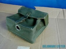 Military German/Russian ? Geen Canvas Radio Tool Ammo Bag NOS