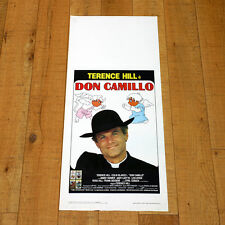 DON CAMILLO locandina poster Terence Hill Colin Bakeley Peppone Guareschi