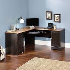 Corner Computer Desk - Antiqued Paint - Harbor View Collection (403794)