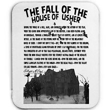 THE FALL OF THE HOUSE OF USHER - MOUSE MAT/PAD AMAZING DESIGN
