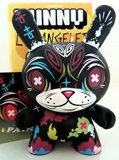 "DUNNY 3"" LA SERIES THOMAS HAN PAINKILLER BLACK 2/25 KIDROBOT 2006 DESIGNER TOY"