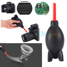 Black & Red Rocket Air Blower Duster For Camera CCD Lens Keyboard Dust Cleaning