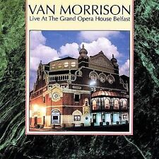 Live at the Grand Opera House Belfast by Van Morrison CD Like New