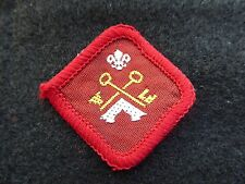 Vintage Scout Proficiency Series B badge - Camp Warden  (1938)