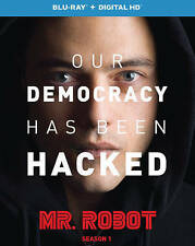 Mr. Robot: Season 1 (Blu-ray Disc, 2016, 2-Disc Set) WITH SLIPCOVER