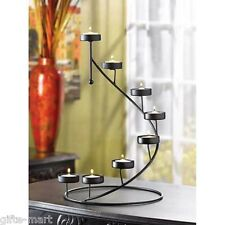 graduated Spiral Staircase patio umbrella Candle holder garden outdoor terrace