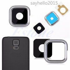New Camera Glass Lens Cover Replacement For Samsung Galaxy S5 i9600 G900 G9005