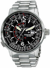 Citizen Eco-Drive BJ7000-52E NIGHTHAWK Stainless-Steel Watch