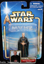 Star Wars Attack of the Clones. SUPREME CHANCELLOR PALPATINE. New! Darth Sidious