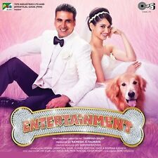 IT'S ENTERTAINMENT - BRAND NEW ORIGINAL BOLLYWOOD SOUNDTRACK CD - FREE UK POST
