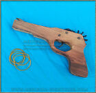 Wooden Pistol rubber band TOY hand gun - legal in Australia BUY 2 GET 1 FREE