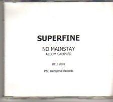 (DO794) Superfine No Mainstay Album Sampler - 2001 DJ CD