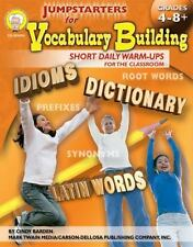 Jumpstarters for Vocabulary Building, Grades 4 - 8: Short Daily Warm-Ups for the