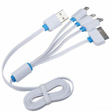4in1 Charging USB Cable for iPhone 4/5/6 Samsung Galaxy Note Charger US SHIP
