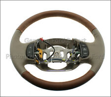 BRAND NEW OEM KING RANCH TAN LEATHER STEERING WHEEL FORD F150 F250SD F350 SD