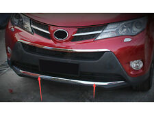 ABS Chrome Front Grille Bottom Cover Trim 1pcs For TOYOTA RAV4 2013 2014 2015