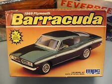 MPC/ERTL 1969 PLYMOUTH BARRACUDA #6070 AMT 69 1/25 MINT SEALED INSIDE MODEL KIT