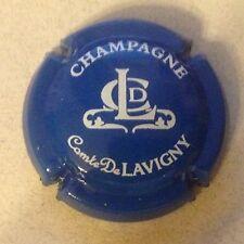 Capsule de champagne COMTE DE LAVIGNY (1. bleu et blanc)
