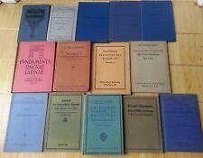 14 Schul Lehrbücher französisch 1902-1943 Antiquariat Rarität div Schularten